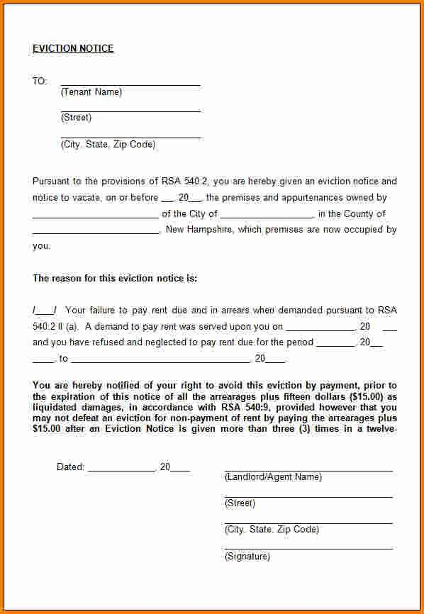 11+ eviction notice form | cashier resume