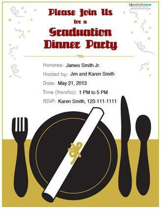 Graduation Dinner Invitations – gangcraft.net