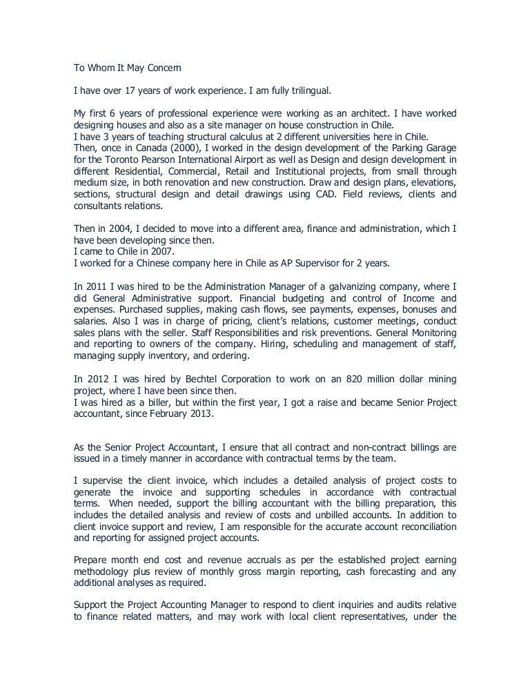 carta de presentacion de mis 17 años de experiencia - Copy