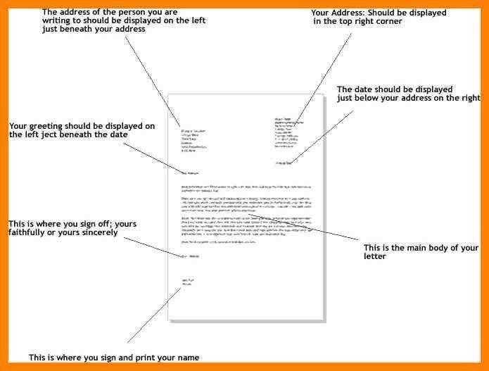 5+ formal letter example   addressing letter