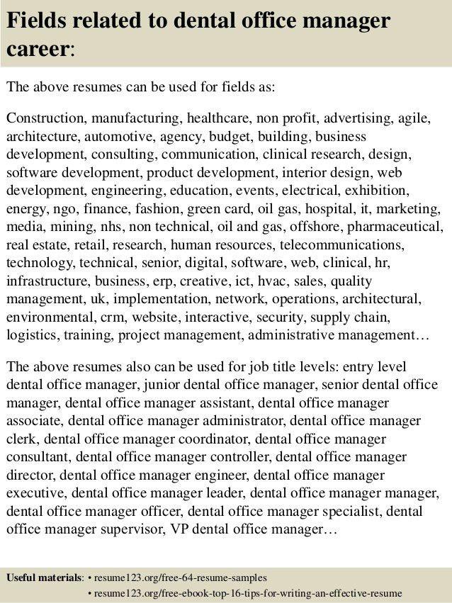 resumes for receptionist jobs. 9 dental hygienist resume samples ...