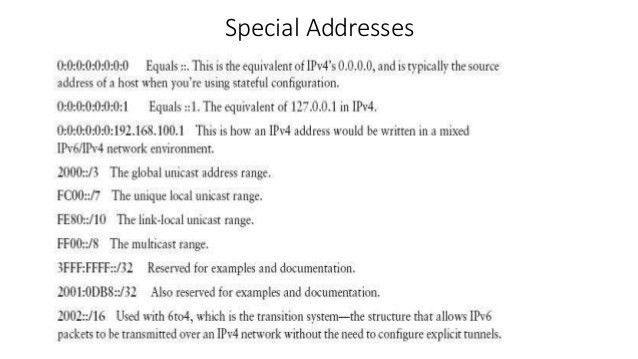 A very good introduction to IPv6