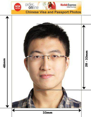 Chinese Passport and Visa Photos