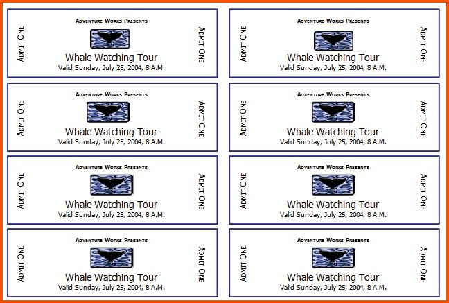 Event Tickets Template Free Event Ticket Template Templates For – Sports Ticket Template