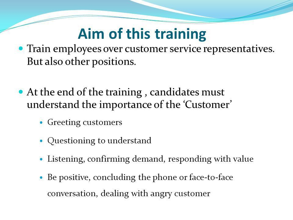 Customer Service Training & Motivation - ppt video online download