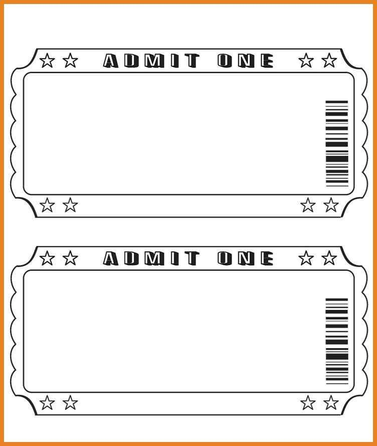 Fundraiser Tickets Template | Cvletter.billybullock.us