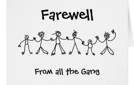 Farewell Card Template. Medium Size Of Designs Free Printable ...