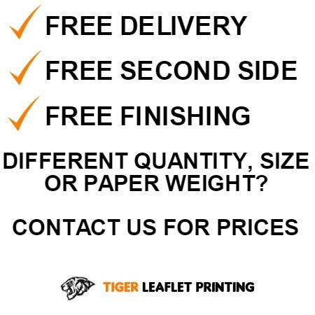 Cheap A4 Leaflets A4 Flyers Online - FREE Second Side - FREE 48hr ...