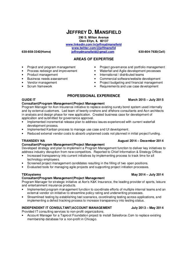 PDF Version of Project/Program Manager resume Jeffrey Mansfield 26 …