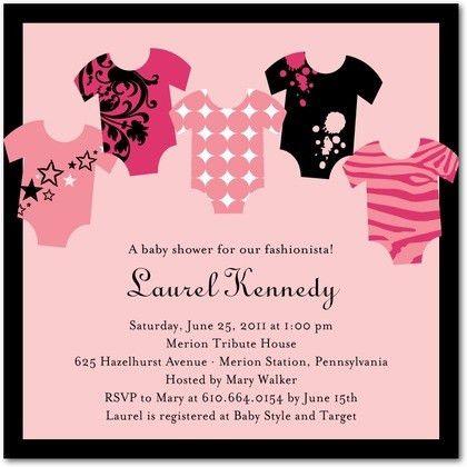 Pink Baby Shower Invitations – gangcraft.net