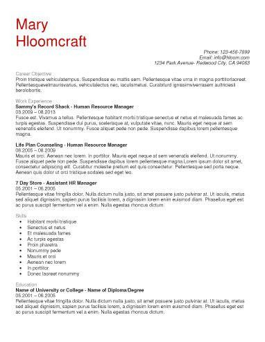 7 Free Resume Templates Primer Free Resume Examples ...