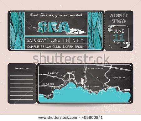 Ticket Design Stock Images, Royalty-Free Images & Vectors ...