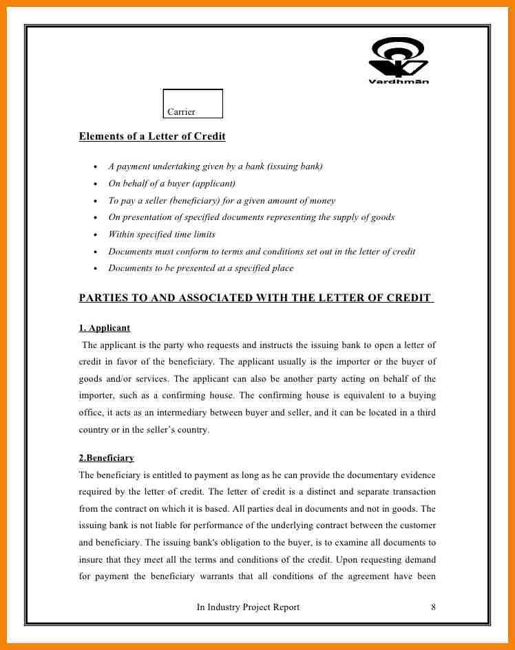 6+ undertaking letter for payment   hr cover letter