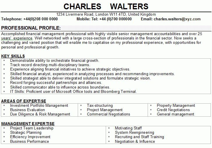 personal statement resume example personal profile statement on a