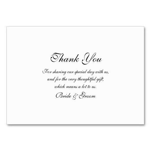 simple creativity wedding thank you cards template incredible ...