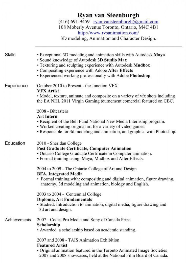 resume examples canada high school resume for college template ...