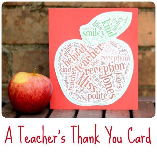 25+ best Teacher thank you ideas on Pinterest | Teacher thank you ...