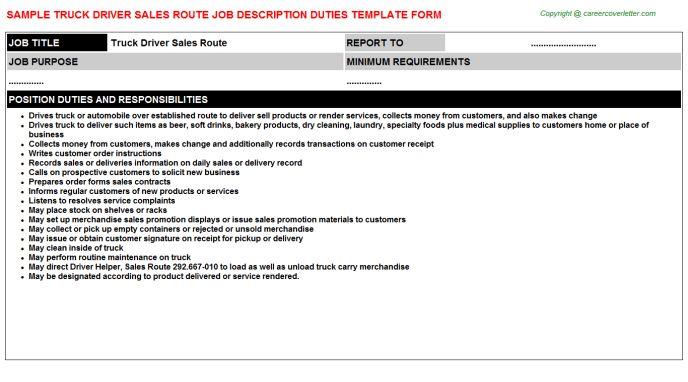 Truck Pusher Job Descriptions