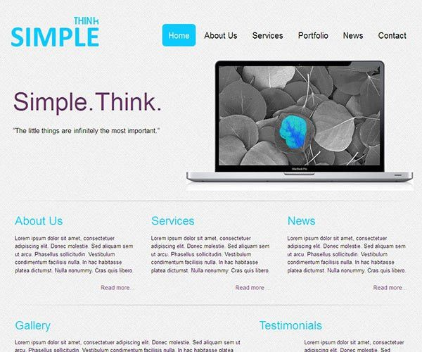 62 Free Business HTML Website Templates | TemplateMag