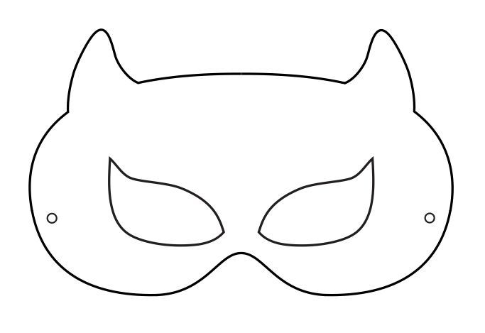 9 Best Images of Face Mask Outline Printable Large - full face ...