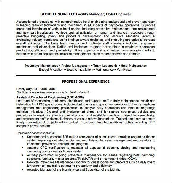master resume template resume format download pdf hvac resume - Master Resume Template