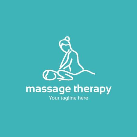 Massage and Physical Therapy Logo Template - $10