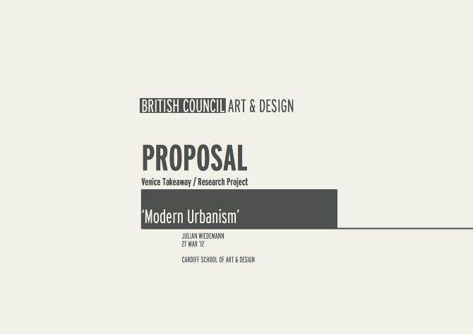 Venice Takeaway Bienale | Modern Urbanism - Julian Wiedemann ...