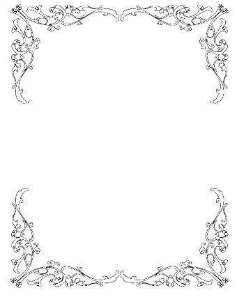 Wedding Invitation Clip Art Borders Free Clipart | BORDERS ...