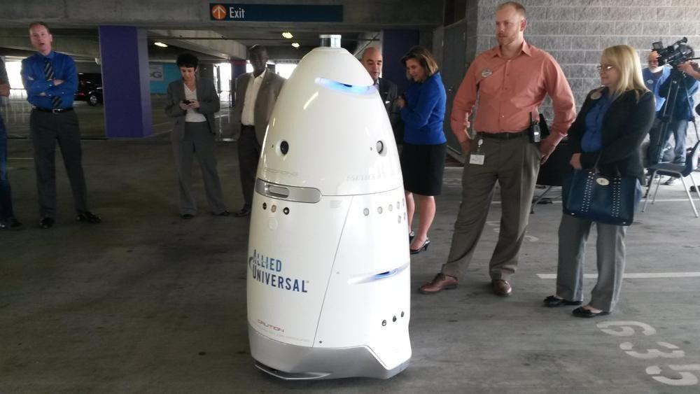 Robot security guard: first Atlanta job is at Georgia Aquarium