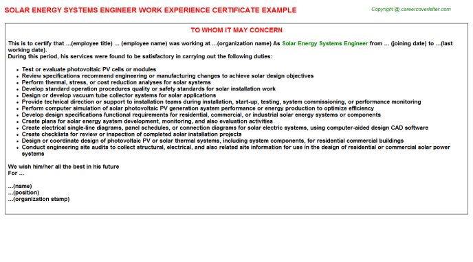 application engineer cover letter