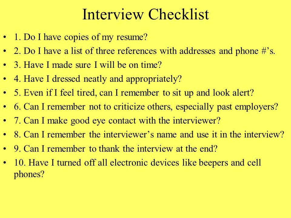 Chapter 8 Interviewing for a Job and Writing a Resume - ppt download