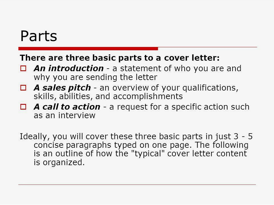 Cover Letters. - ppt download