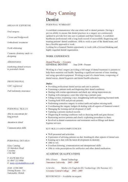 Cv Format Doctor Medical Cv Template Doctor Nurse Cv Medical Jobs ...