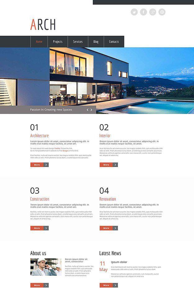 25 Free HTML5 Website Templates - Web Design Ledger