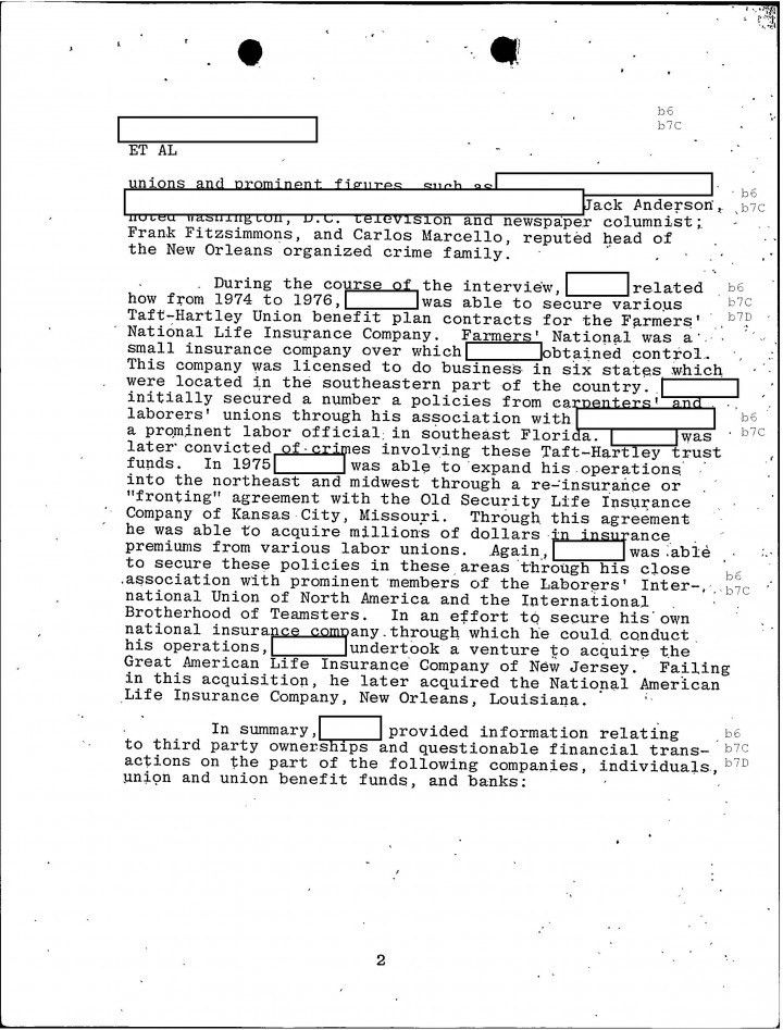 GoLocalProv | Cheat Sheet 51, FBI Files: Indictment of Patriarca ...