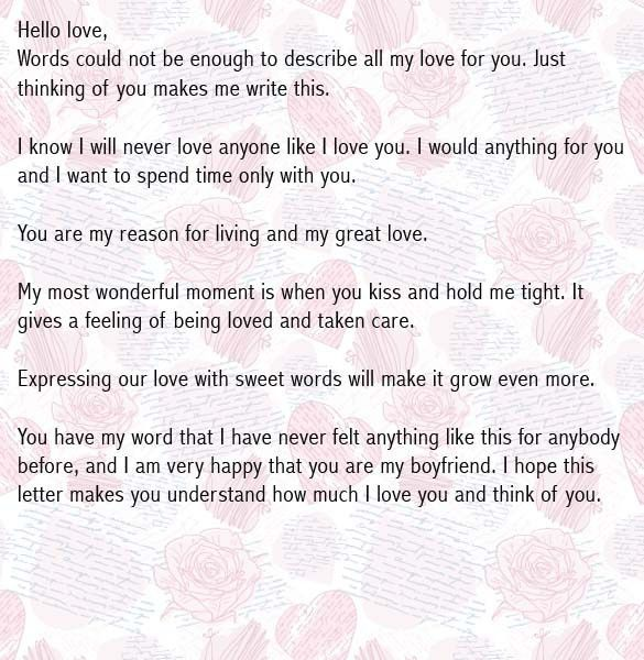 Love Letter To Boyfriend. 99 Best Love Letters❤ Images On ...