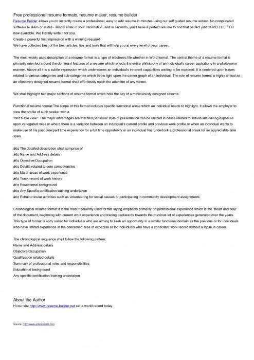 best free resume building sites top 10 free resume builder reviews ...
