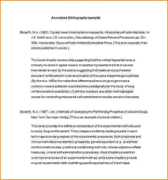 Annotated bibliography chicago style book