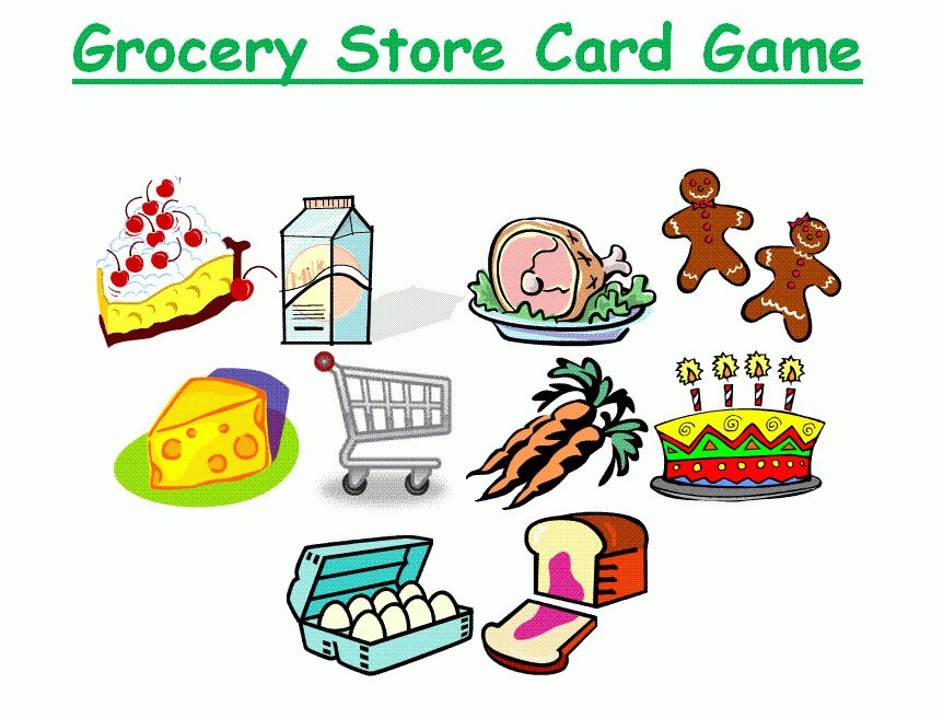 Learning New Words: Grocery Store Words and Learn Along Videos