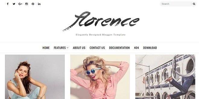 Fashion Blogger Templates
