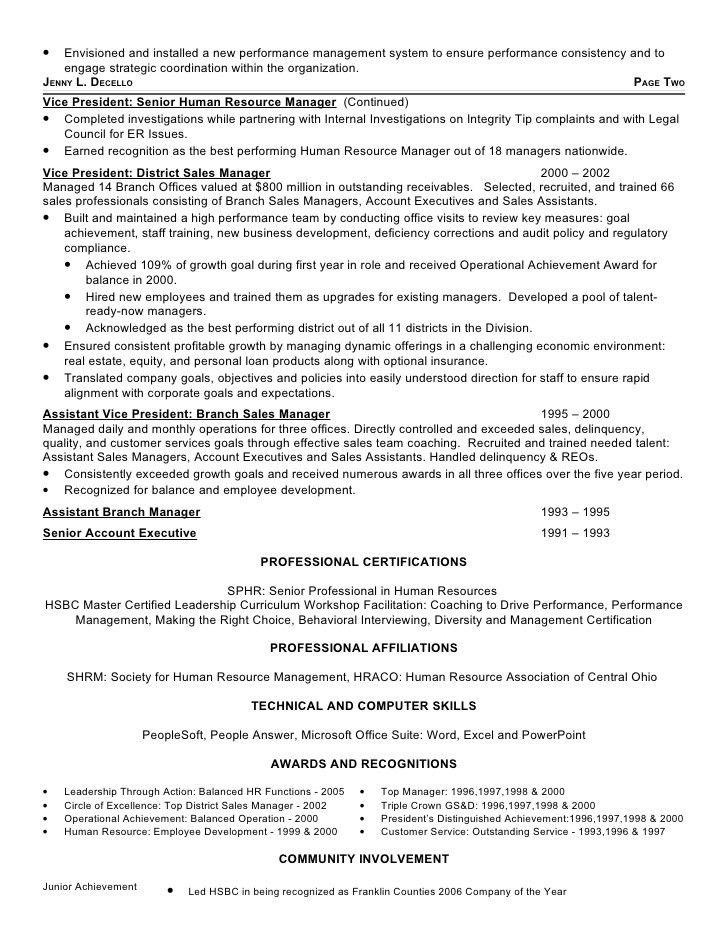 Jennifer Decello\'s Resume