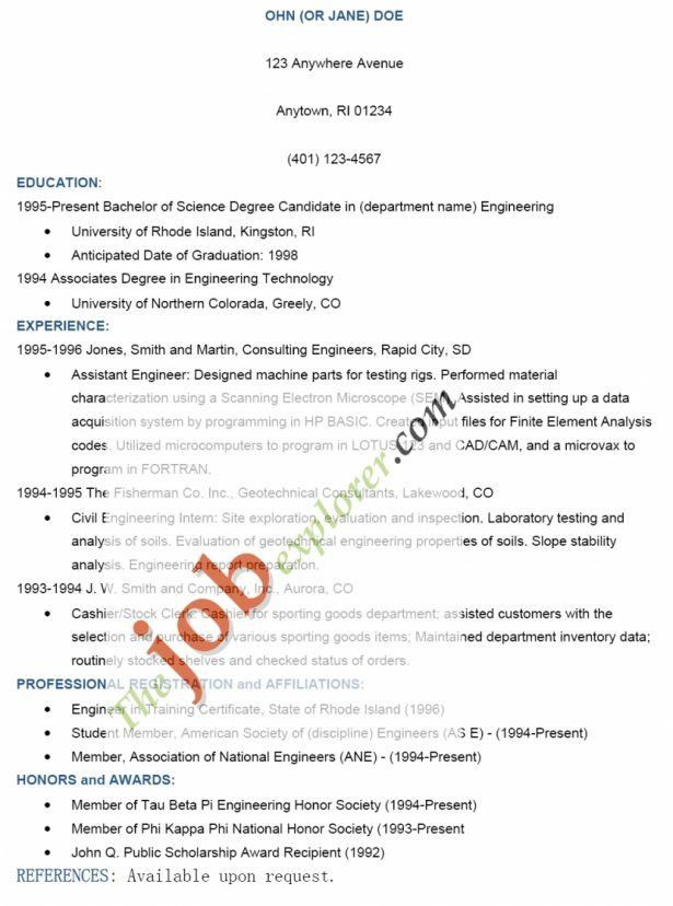 Resume : Job Resume Form Job Resume Format Sample Job Resume Job ...
