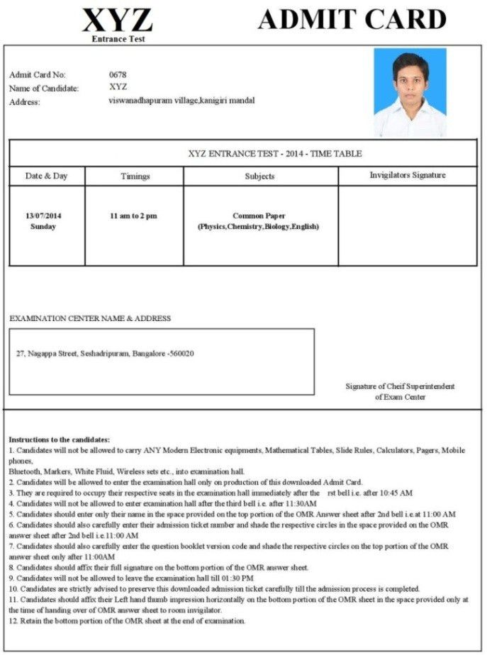 Admit Card Printing Solutions India