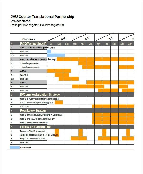 13+ Sample Excel Schedule Templates - Free, Example, Format | Free ...