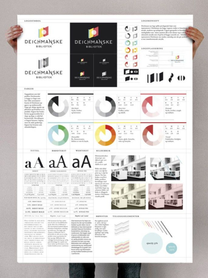 Brand Standards Template. brand style guide template vector free ...