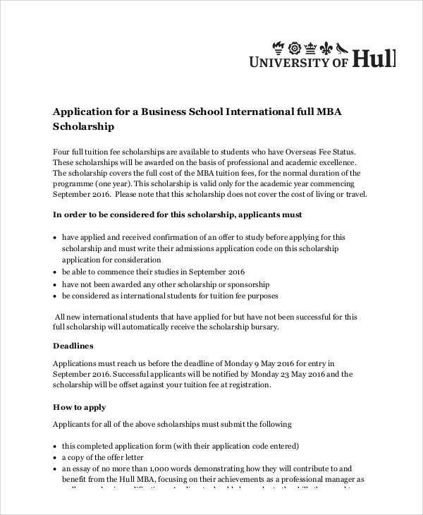 scholarship application essay free sample college scholarship - Mba Entrance Essay Examples
