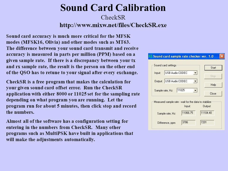 Digital Sound Card Modes and Operation - ppt video online download