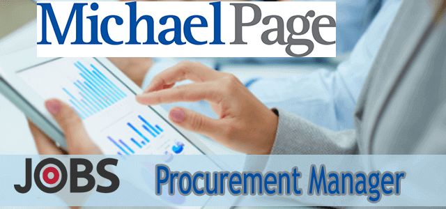 Procurement Manager Required in MichaelPage | Jobs in GCC