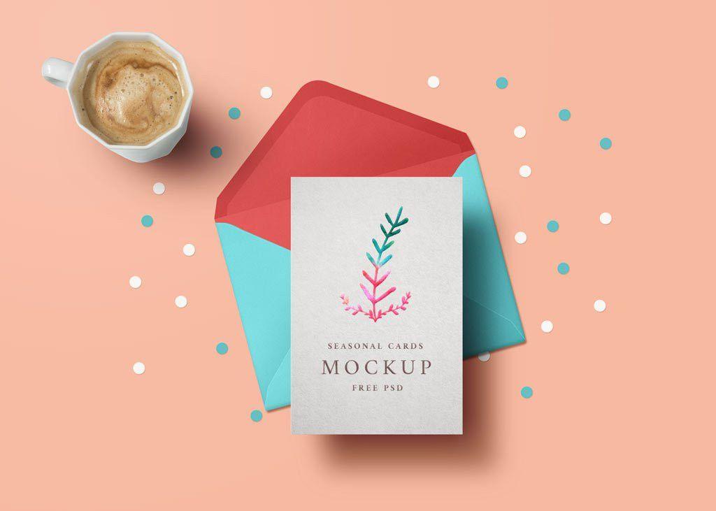 Greeting Card Mockup | MockupWorld