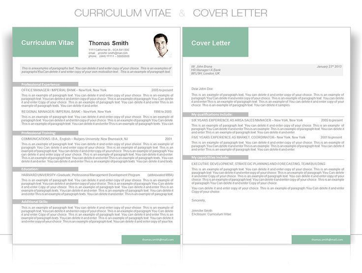 21 best CV Word Templates - MODERN images on Pinterest | Cv ...